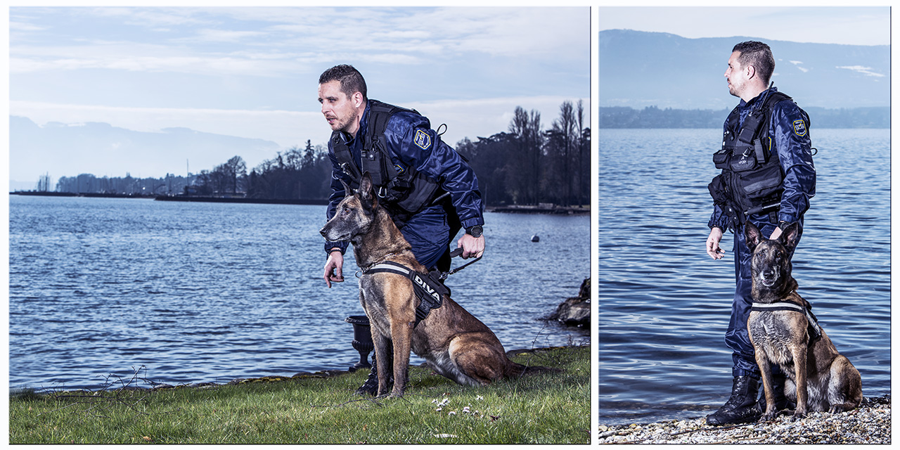 La brigade canine SDS-sécurité